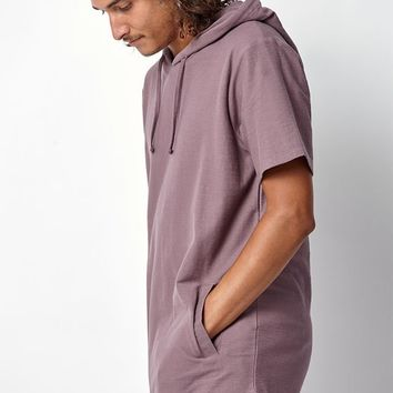 PacSun Etienne Hooded Extended Length Scallop T-Shirt at PacSun.com