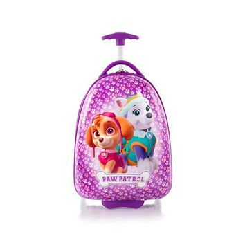 Heys Paw Patrol Designer Luggage Case [Skye and Everest - Purple]