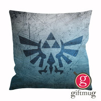 Zelda Triforce Logo Cushion Case / Pillow Case