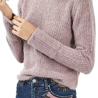 Topshop Turn Back Cuff Sweater | Nordstrom