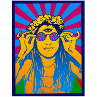 Hippie Chick  Bumper Sticker on Sale for $2.99 at HippieShop.com