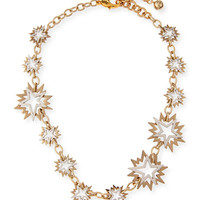 Lulu Frost Cosmic Two-Tone Star Station Necklace