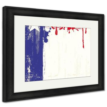 Framed Print, Texas Fresh Painting Poster
