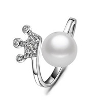 Everbling Fresh Water Pearl 925 Sterling Silver Midi Toe Ring (6)