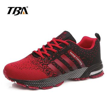 2017 TBA Men 's Sports shoes Light -wearing Breathable Sneakers Lace-Up Running shoes