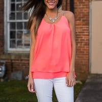Golden Rule Tank, Hot Pink