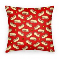 Red Hot Dog Pattern