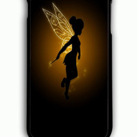 iPhone 6 Plus Case - Rubber (TPU) Cover with Disney Peter Pan Tinkerbell Neverland Rubber Case Design