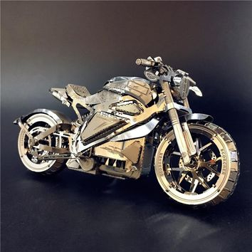 Vengeance Motorcycle Collection Puzzle 3D Metal Assembly Model 1:16 Playmobil Toys Hobbies Puzzles 2018 Toys For Children Gift
