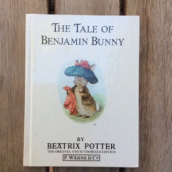 The Tale of Benjamin Bunny - Vintage Beatrix Potter Children's Book, 1987