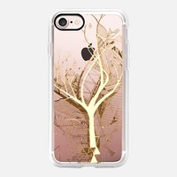 Casetify iPhone 7 Classic Grip Case - geometric tree by Marianna