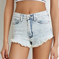 Faded Denim Cutoffs
