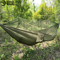 Outdoor Two Person Parachute Hammock/ Mosquito Net
