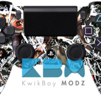 Zombieflage Dualshock 4 PS4 Controller