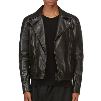 Matchless Black Wild One Biker Jacket