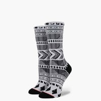Stance Fishbones Womens Everyday Socks Black Combo One Size For Women 25083814901