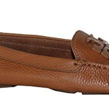 Tory Burch Lowell 2 Driver Leather Flats Women's Loafers Shoes