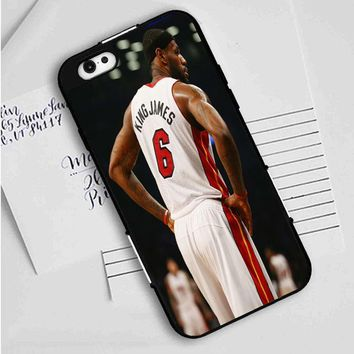 Lebron James jersey 6 iPhone Case