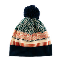 ASOS Mixed Fairisle Bobble Beanie