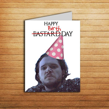 Game of Thrones Birthday card Printable from EnjoyPrintable on