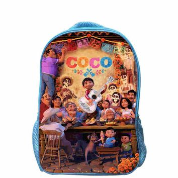 Star Wars Force Episode 1 2 3 4 5 Coco Guitar Backpack Skull  Anime Travel School Bags For Toddler Boys Girls Mochila Gift Bolsa Pencil Case Lunch Box AT_72_6