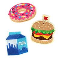 Food Fight Patch Set