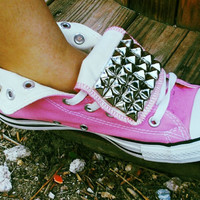 Custom Studded Converse Adults Chuck Taylor by LoveChuckTaylors