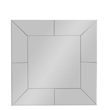 Baxton Studio Gerard Contemporary Square Accent Wall Mirror  Set of 1