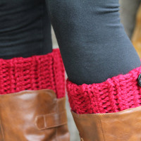 Boot Cuffs, Boot Toppers, Boot Socks, Leg Warmers, Ankle Warmers, Textured and Stretchy