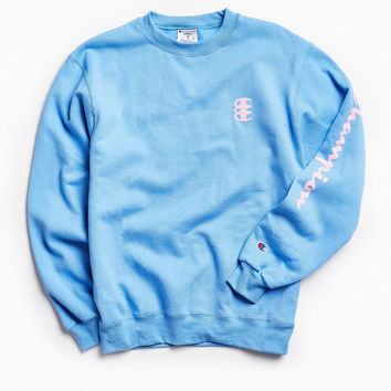Champion Triple C Fleece Crew Neck Sweatshirt | Urban Outfitters
