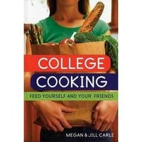 College Cooking - Feed Yourself and Your Friends Paperback Book - FindGift.com