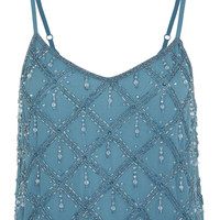 Diagonal Embellished Camisole - View All  - New In