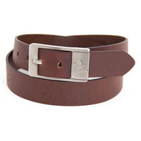Mississippi Rebels NCAA Brandish Leather Belt Size 38