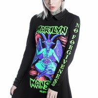 Devil On Tour Long Sleeve Dress [B]