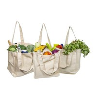 Reusable Grocery Organic Cotton Tote Bags