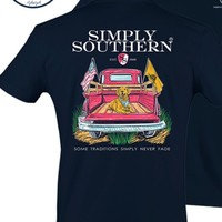 """Simply Southern """"Some Traditions Never Fade"""" Tee"""