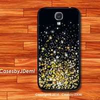Glitter Gold Samsung S4 case, iPhone 4/4S/5/5c/5S Case, Plastic Case, Stripes  Galaxy S3, Galaxy Note 2, Galaxy Note 3, Galaxy s3/s4 mini