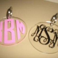 Personalized Monogram Key Chain