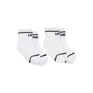 Little F@cker Socks, Set of 2