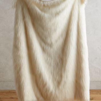 Chroma Faux-Fur Throw