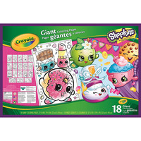Crayola Shopkins Giant Coloring Book