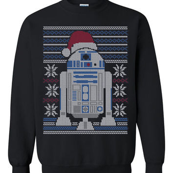 Star Wars R2-D2 Ugly Christmas Sweater sweatshirt Unisex Adults