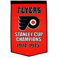 Philadelphia Flyers NHL Dynasty Banner (24x36)