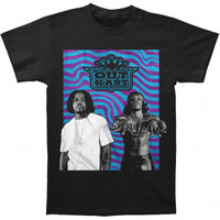 Outkast Wavy Photo Logo Slim Fit T-shirt - Outkast - O - Artists/Groups - Rockabilia