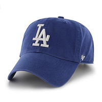 Los Angeles Dodgers Clean-Up Adjustable Hat by '47 Brand
