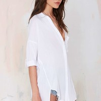 Light On Oversized Blouse