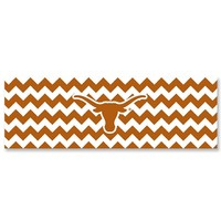 Legacy Athletic Texas Longhorns Chevron Stretch Headband (Orange)
