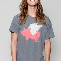 Glamour Kills Clothing - Guys When Pigs Fly Logo Tee