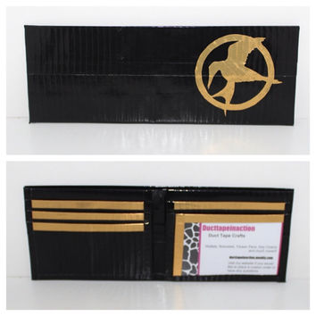 Hunger Games Duct Tape Bi-fold wallet