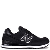 Shoes - Men - Running - New Balance 574 - Black - DTLR - Down Town Locker Room. Your Fashion, Your Lifestyle!